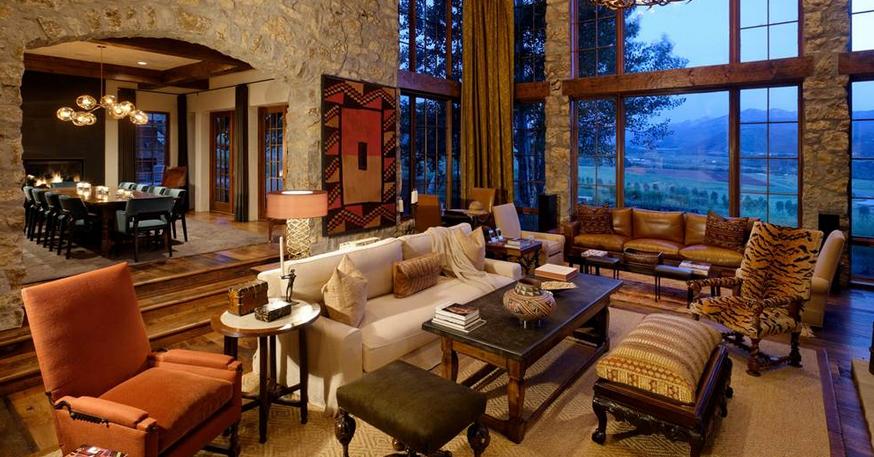 Colorado Luxury Log Home