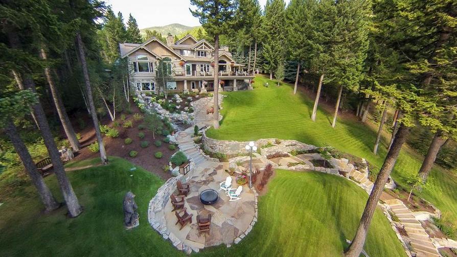 Whitefish Luxury Log Home