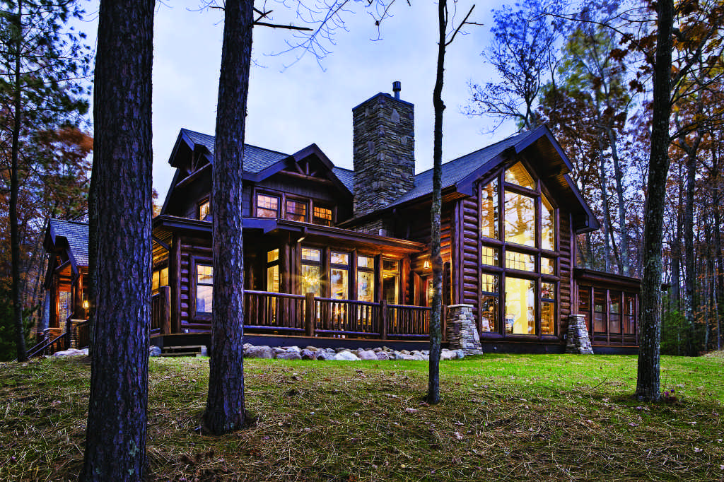 What 39 S Your Log Home Style Lake Mountain Or Woods