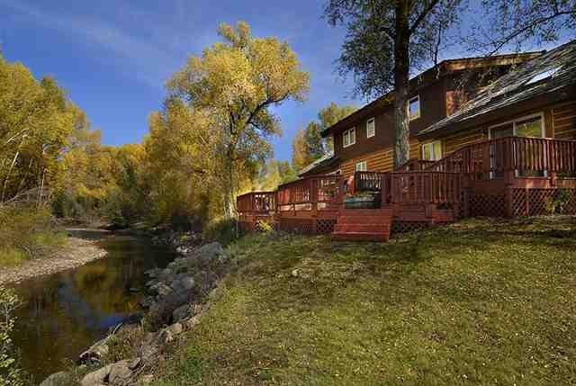 log home in gunnison county colorado
