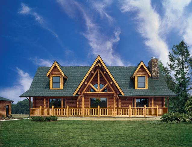 A small log home in rural western pennsylvania for Home builders western pa