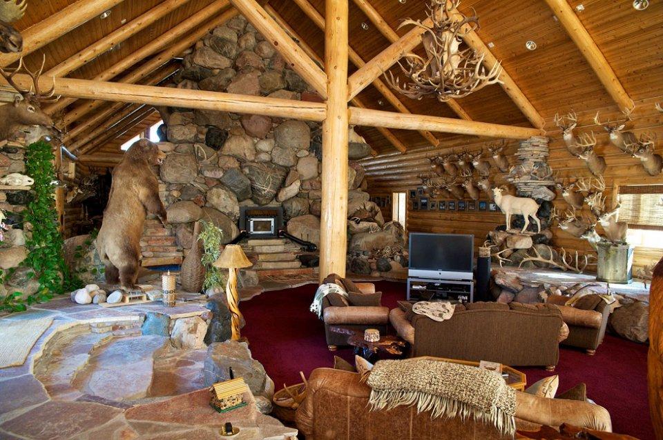Ireland log home