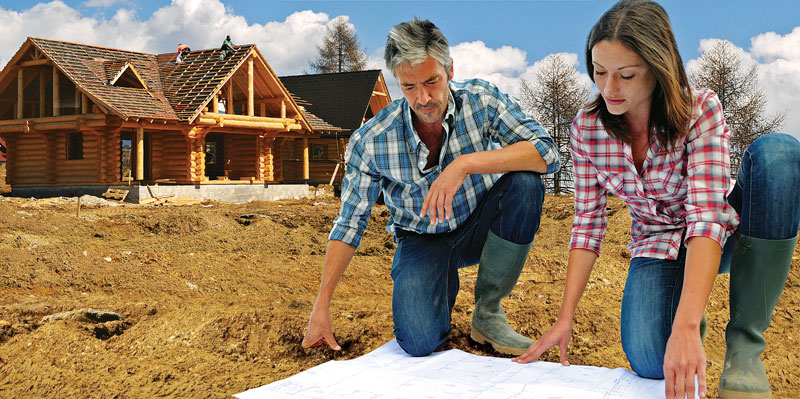 Hire a pro or build your own log home for Being your own general contractor