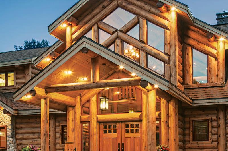front-close-exterior---Wisconsin-Log-Homes-&-KCJ-Studios