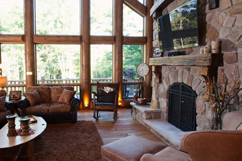 greatroom-fireplace-detail---Wisconsin-Log-Homes-&-KCJ-Studios