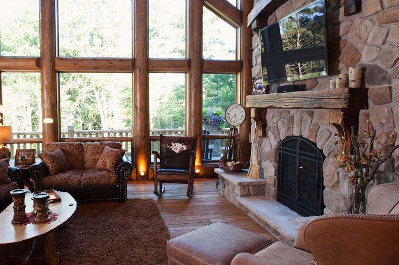 greatroom-fireplace-detail---Wisconsin-Log-Homes-&-KCJ-Studios