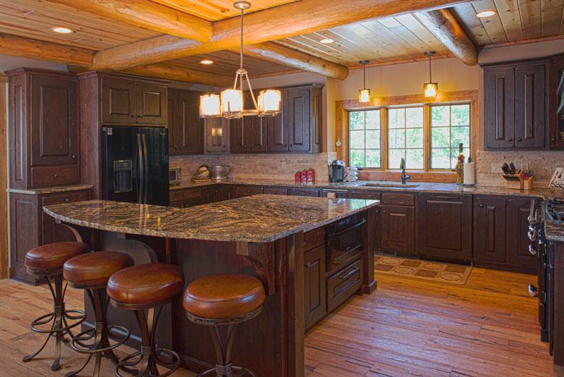 kitchen--Wisconsin-Log-Homes-&-KCJ-Studios