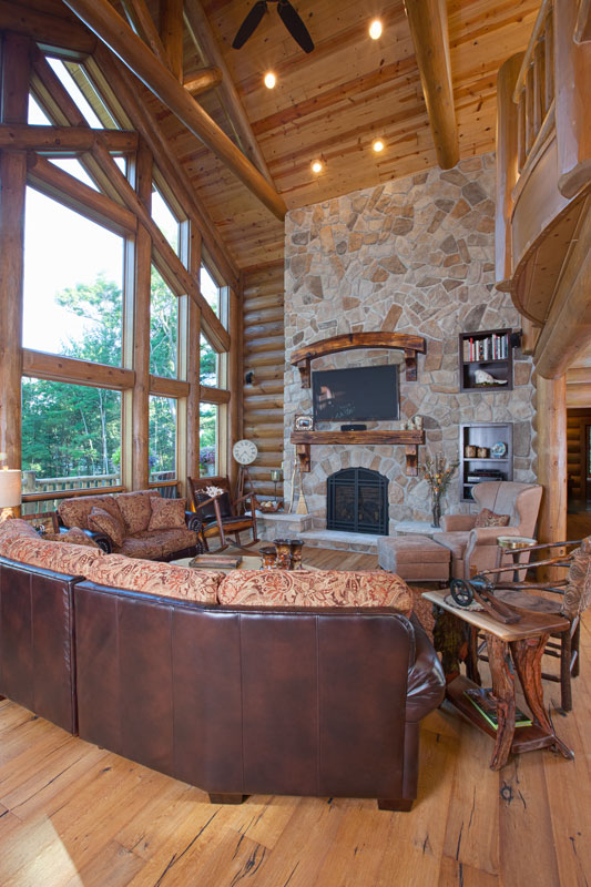 living-room---Wisconsin-Log-Homes-&-KCJ-Studios