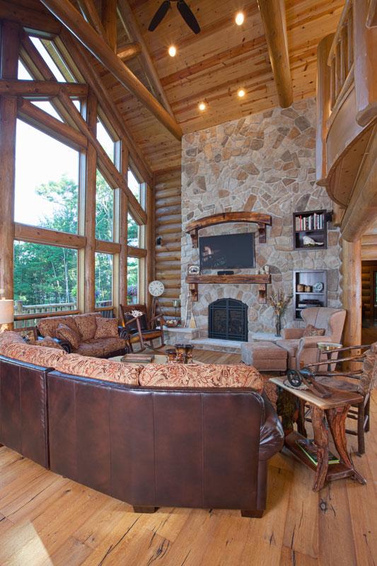 living-room---Wisconsin-Log-Homes-&-KCJ-Studios