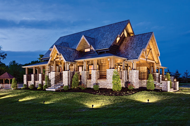 The Essence Of Modern Log Home Design