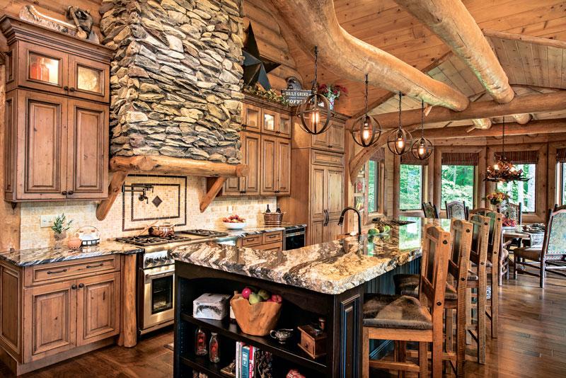 Kitchen-Range-Cabinetry-Interior-Dowell-(Golden-Eagle-Log-Homes)-9