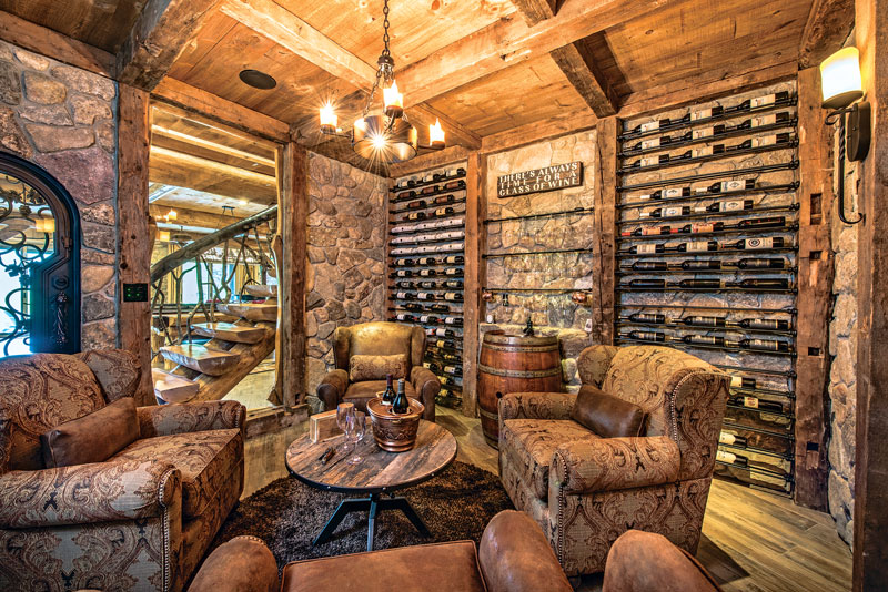 Wine-Cellar-Unique-Interior-Dowell-(Golden-Eagle-Log-Homes)-12