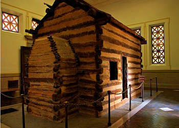Presidents born in log cabins, Abraham Lincoln