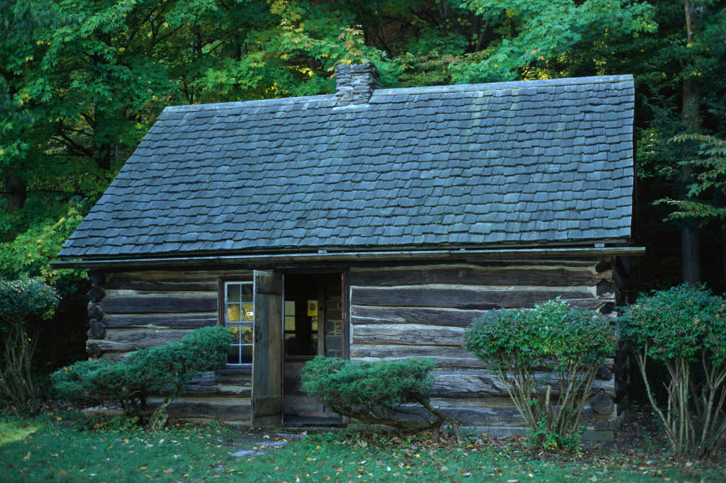 Presidents born in log cabins, Millard Fillmore