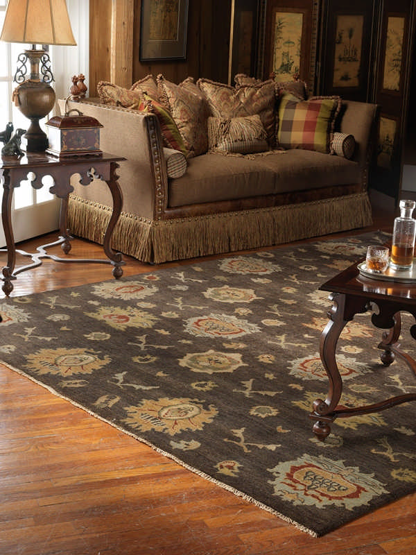 Delineate Space In Your Open Floor Plan With Rugs