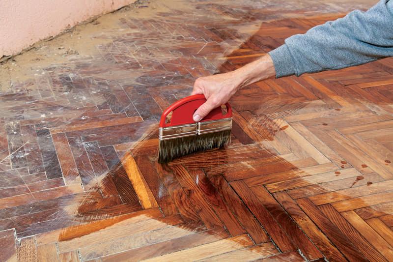 Maintaining Fixing Wood Floors The Log Home Neighborhood