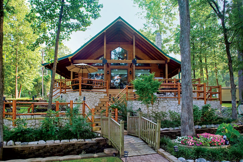 choosing a log home builder