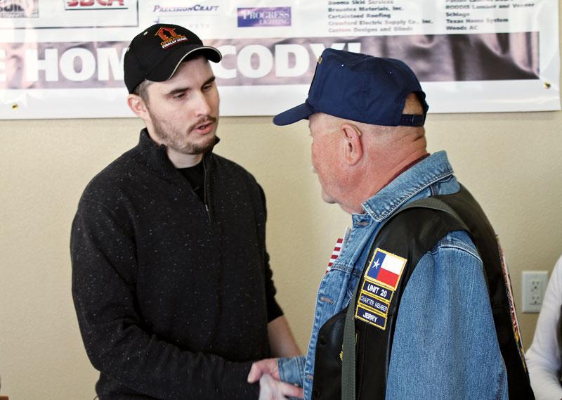 Retired U.S. Army Specialist Cody Nusbaum.