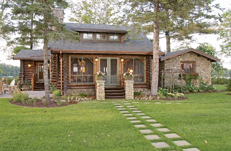 Modern Log Home Design Styles