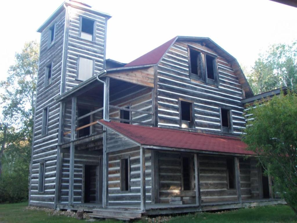 haunted log cabins