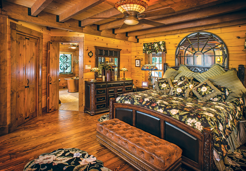 The Suite Life Log Home Master Bedrooms Best Log Home Bedrooms