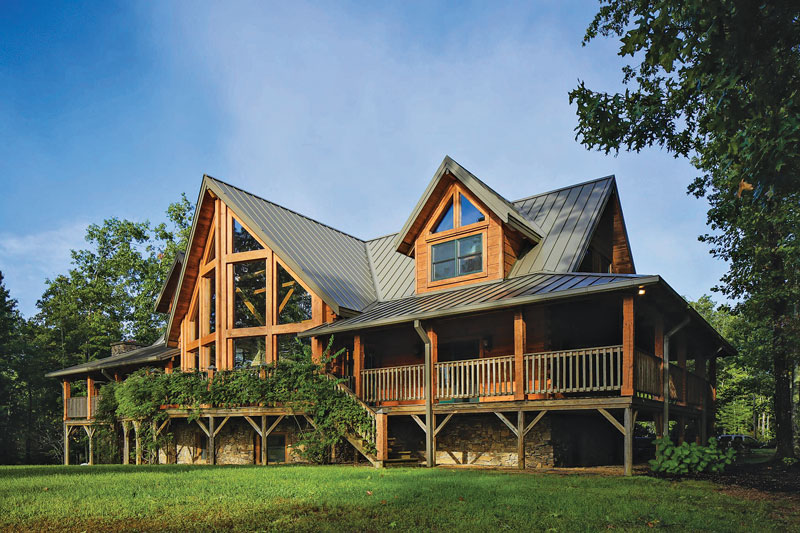 Tennessee Log Home