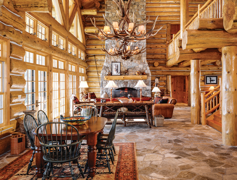 17 Log Home Design Ideas for Every Room in the House