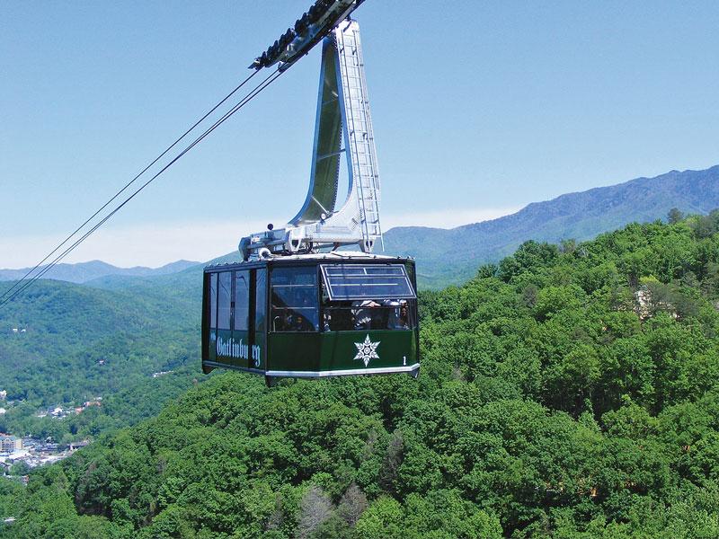 The Ober Gatlinburg Aerial Tram
