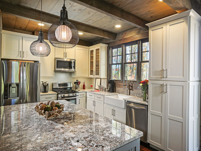 The Holroyds Splurged On Many Custom Crafted Fixtures Like Lighting For Their Home But They Kept Kitchen Budget In Check By Using High Quality