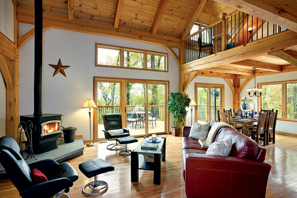 3 tips for downsizing your timber home. Black Bedroom Furniture Sets. Home Design Ideas