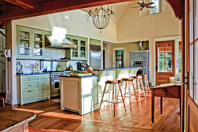Creating A Country Kitchen