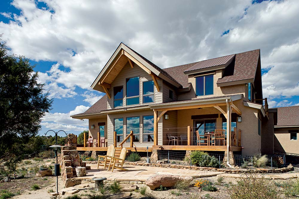 Colorado craftsman classic timber home for Colorado style house plans