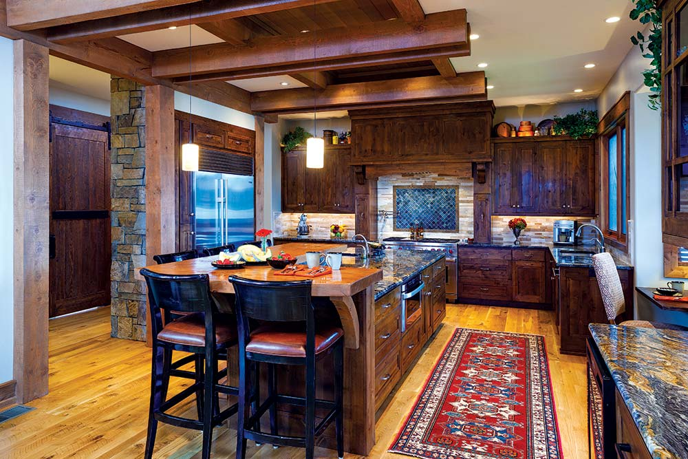 Montana Home Kitchen