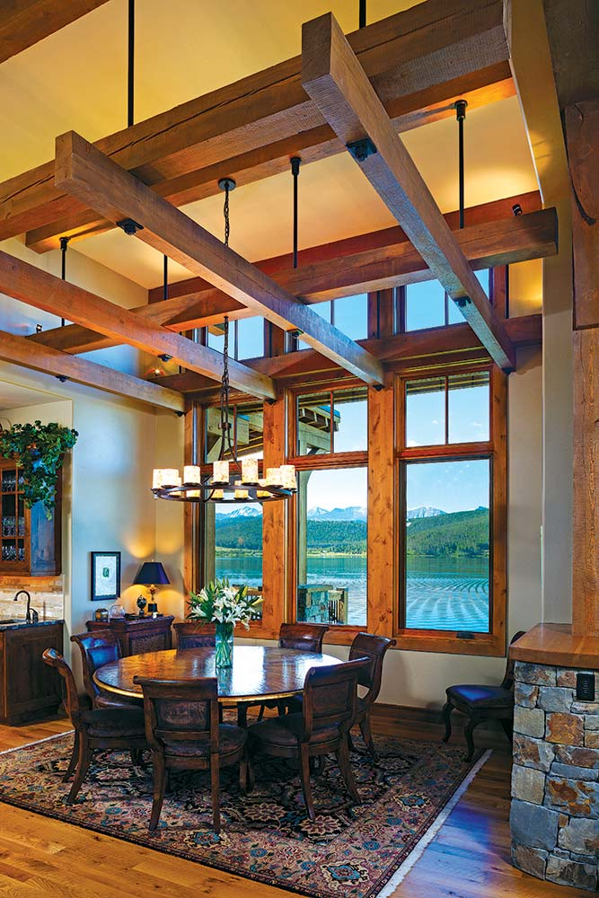 Montana Home Dining Room