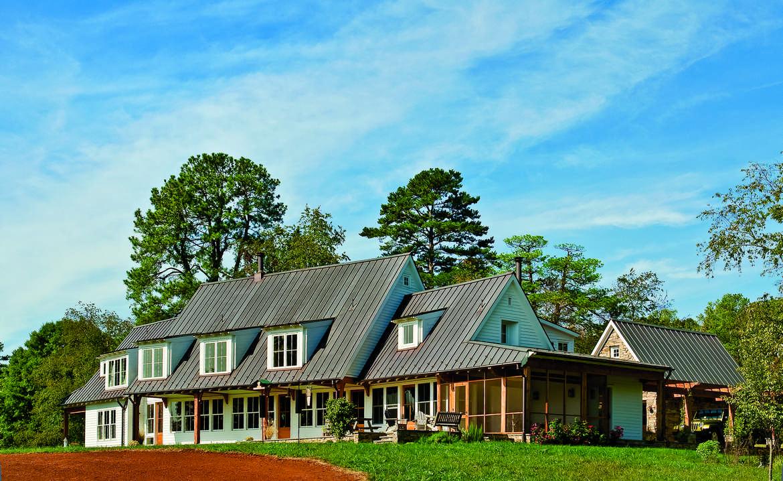 A Healthy Timber Frame Farmhouse