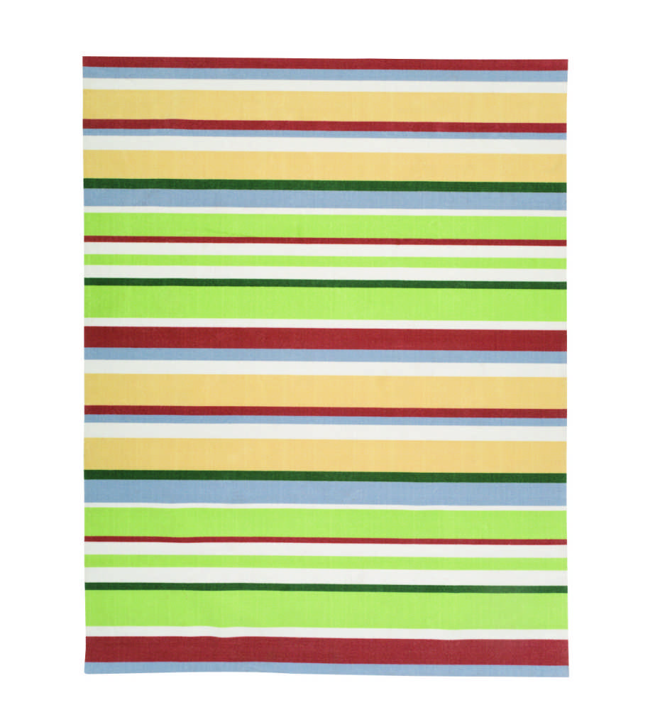 Carnival Stripe Indoor/Outdoor Rug from Plow & Hearth. From $60.