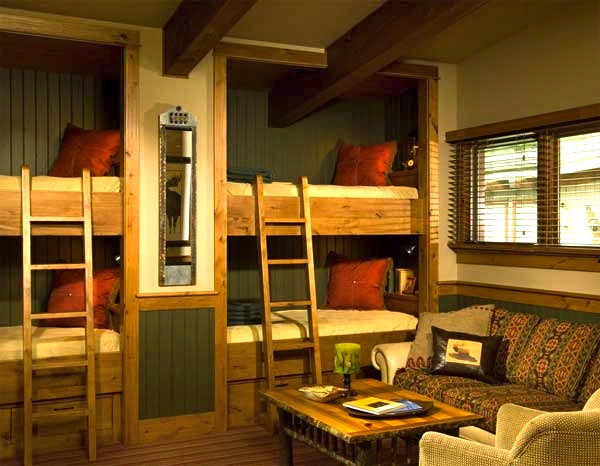Wood Home Bunkroom