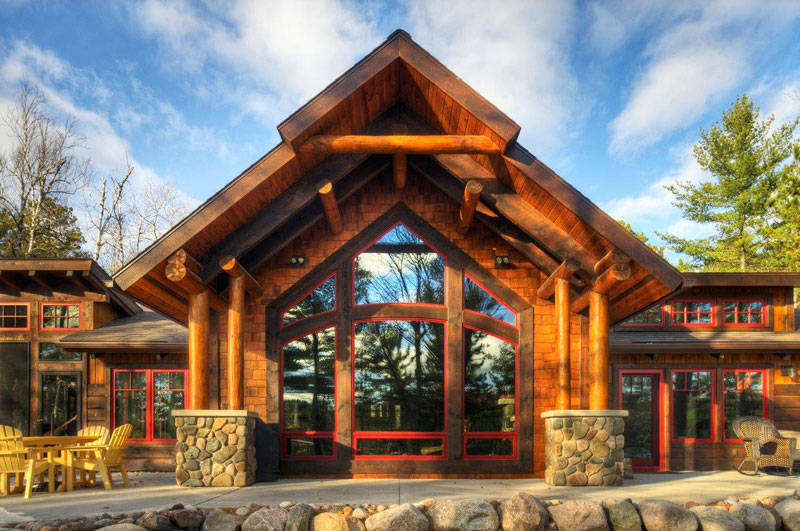 Best Homes of the Year Tomahawk Timberframes – Tomahawk Log Home Floor Plans
