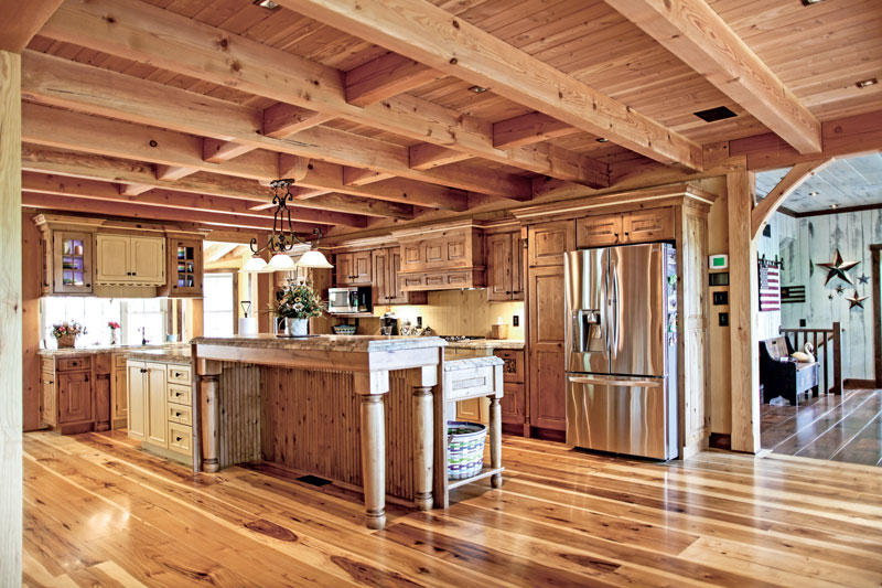 A Classic Timber Frame Home In Pennsylvania