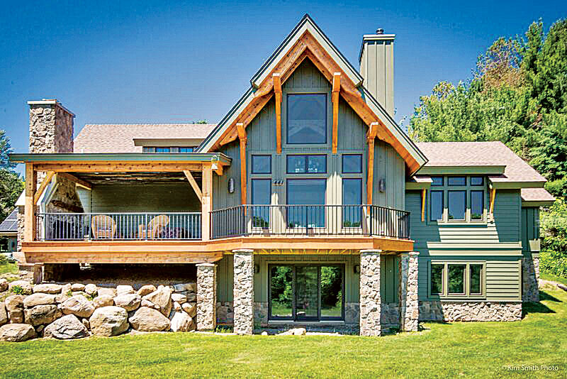 The benefits to a smaller timber home - The marshall plan was designed to ...