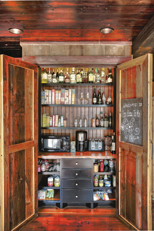 Build the Perfect Timber Home Kitchen Pantry