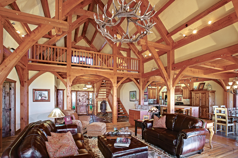 Floor plan fundamentals for Timber frame great rooms