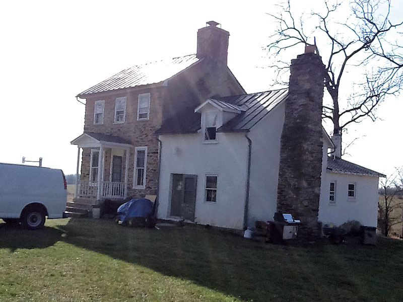 The house before the addition.