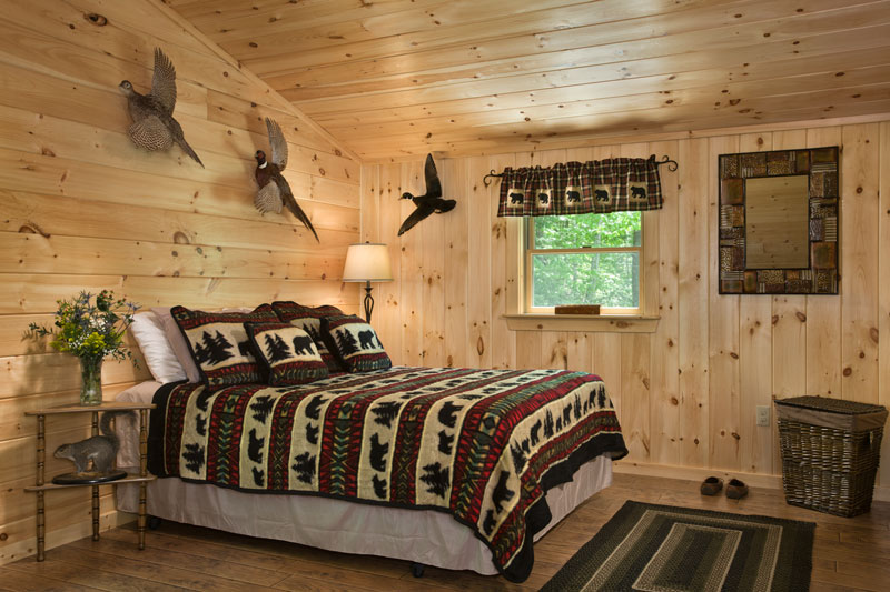 Hunting cabin reimagined for Hunting cabin bedroom