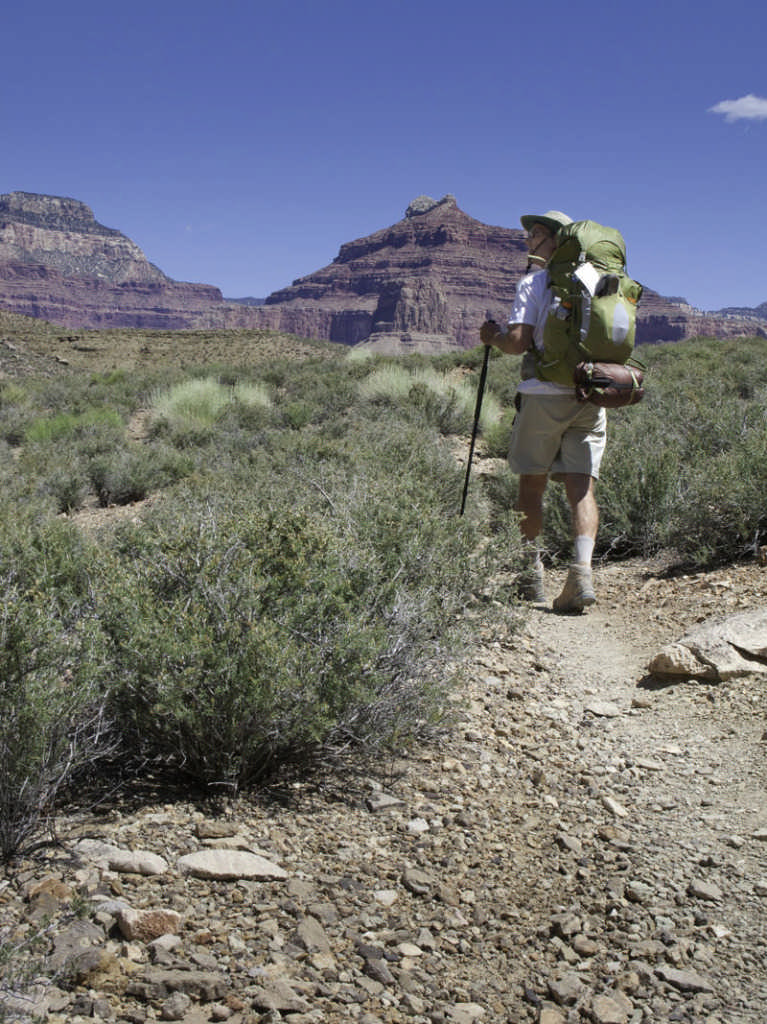 153741023; Filename: CBN-FD1013_hiker in Grand Canyon.jpg