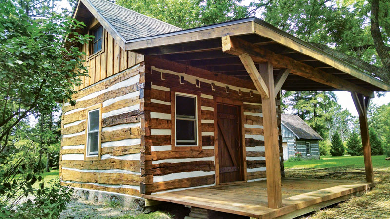 Preserving old cabins for Log cabin furniture canada