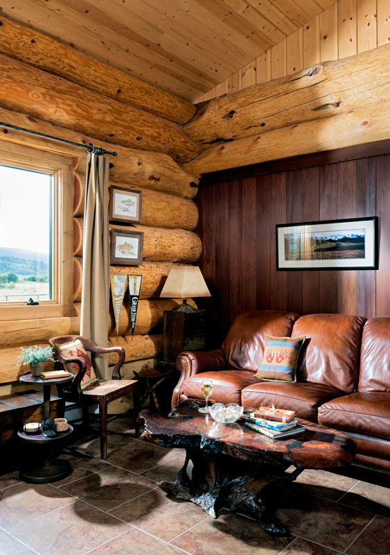 home of july homes featured magazine cabin log the edition cabins living in latest