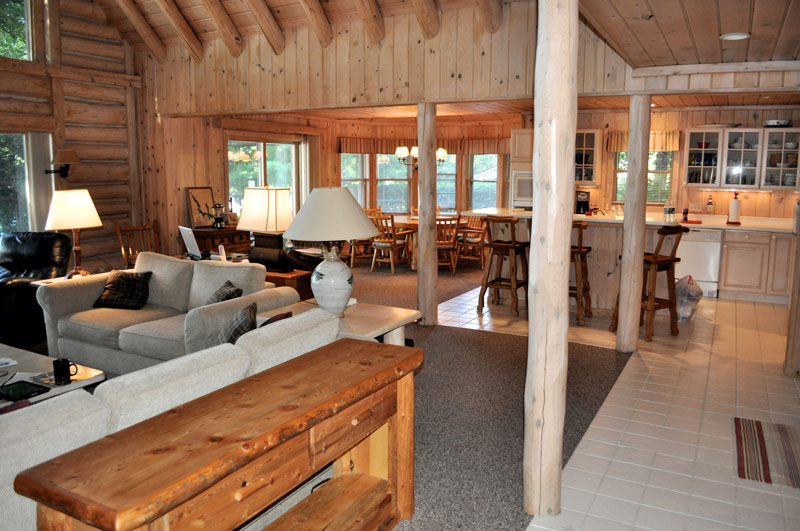 Bill And Denise Travel About Four Hours From Their Suburban Detroit Home To Lake Cabin Which Has Bedrooms Plus A Guest Suite Over The Garage