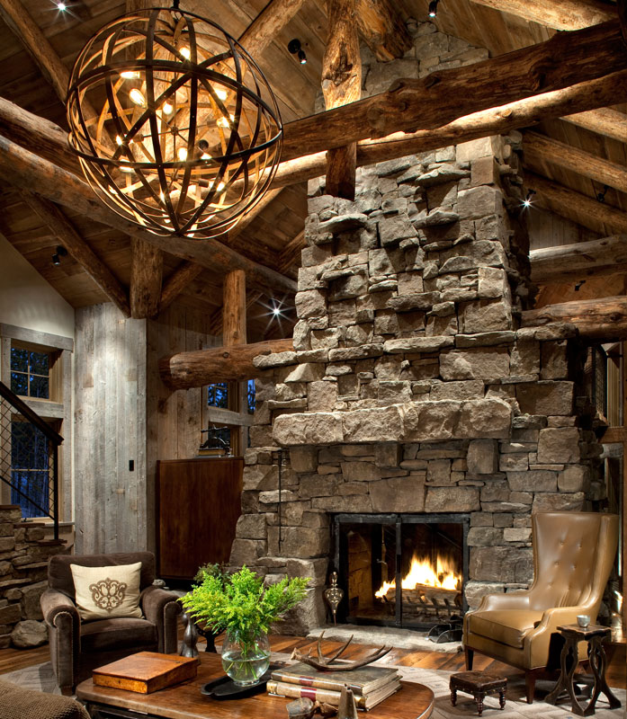 Cabin Design And Decor Rustic Lighting Cabin Life