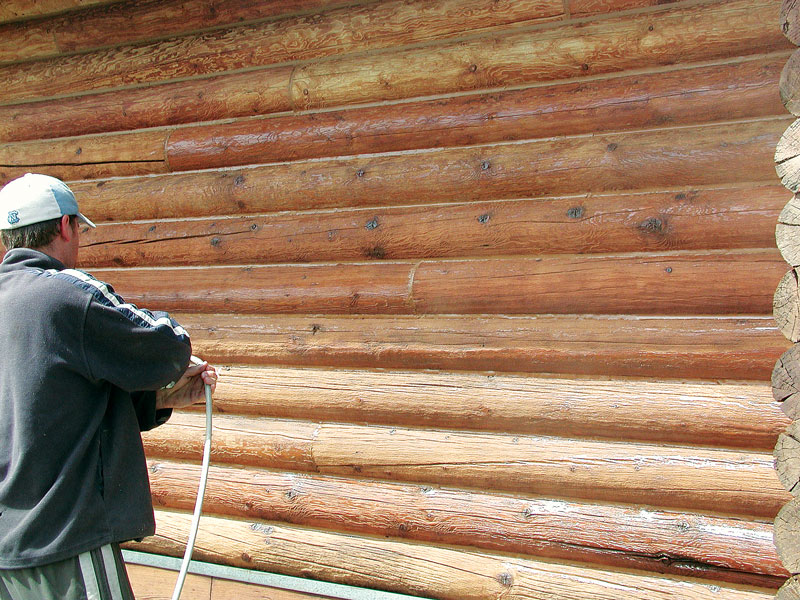 maintaining your cabin exterior